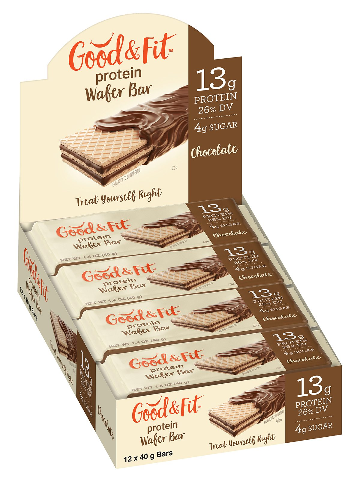 Good and Fit Peanut Chocolate